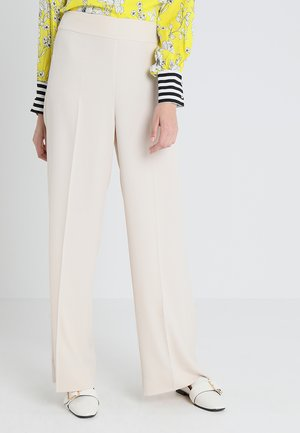 PRUE WIDE PANTS - Broek - french nougat