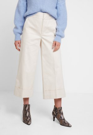 CADEAU CULOTTE PANT - Trousers - french nougat