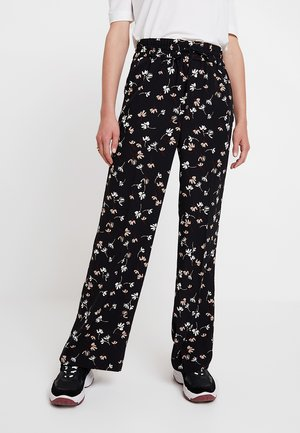 CAMILLEIW PANT - Broek - black happy