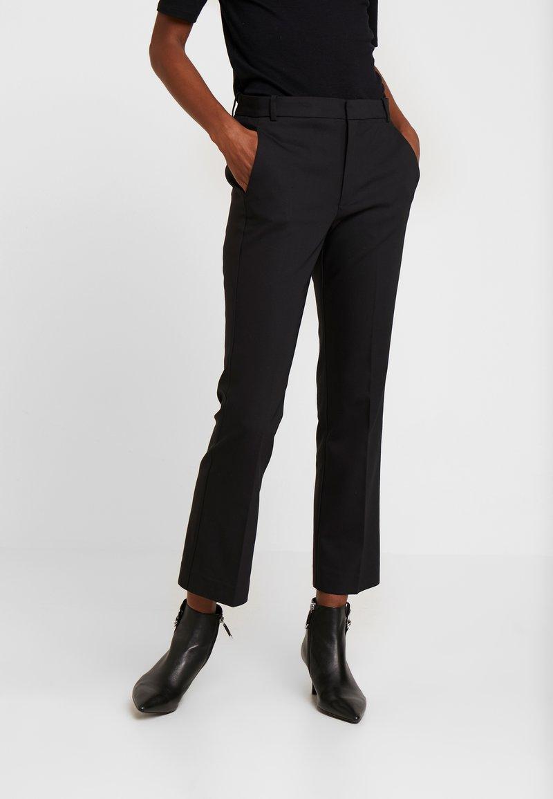 InWear - ZELLA KICKFLARE PANT - Trousers - black