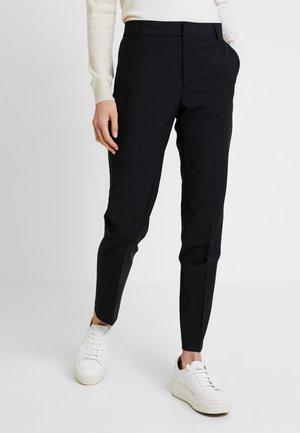 ZALA CIGARETTE PANT - Pantaloni - black