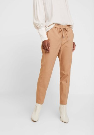 ZELLA PULL ON PANTS - Pantalon classique - warm camel
