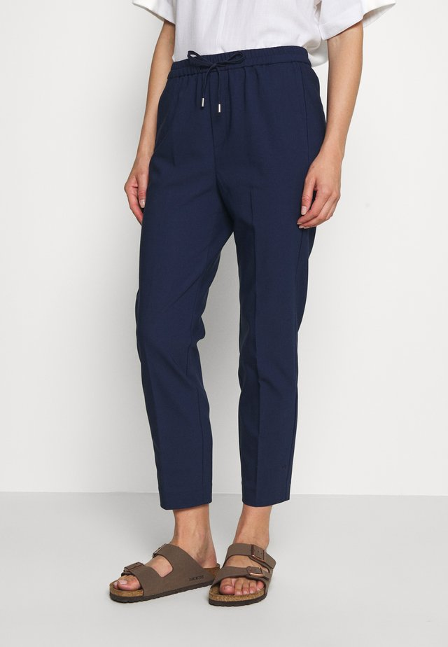 ZELLA PULL ON PANTS - Trousers - ink blue