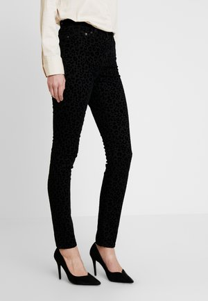 HOLLI FLOCK - Jeans Skinny - black