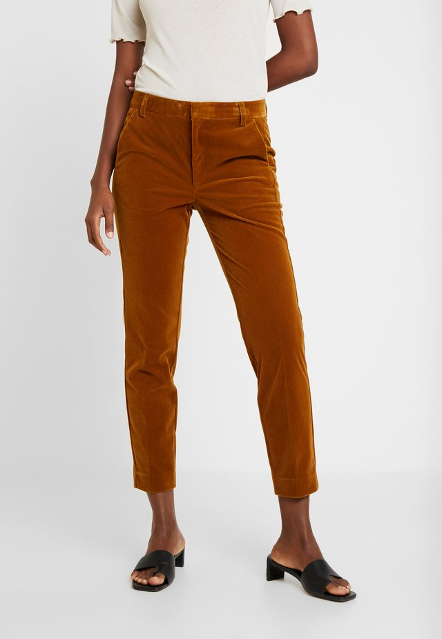 MARI PANT - Pantaloni - golden tapenade
