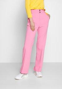 InWear - KATRICE BOOTCUT PANTS - Trousers - morning glory - 0