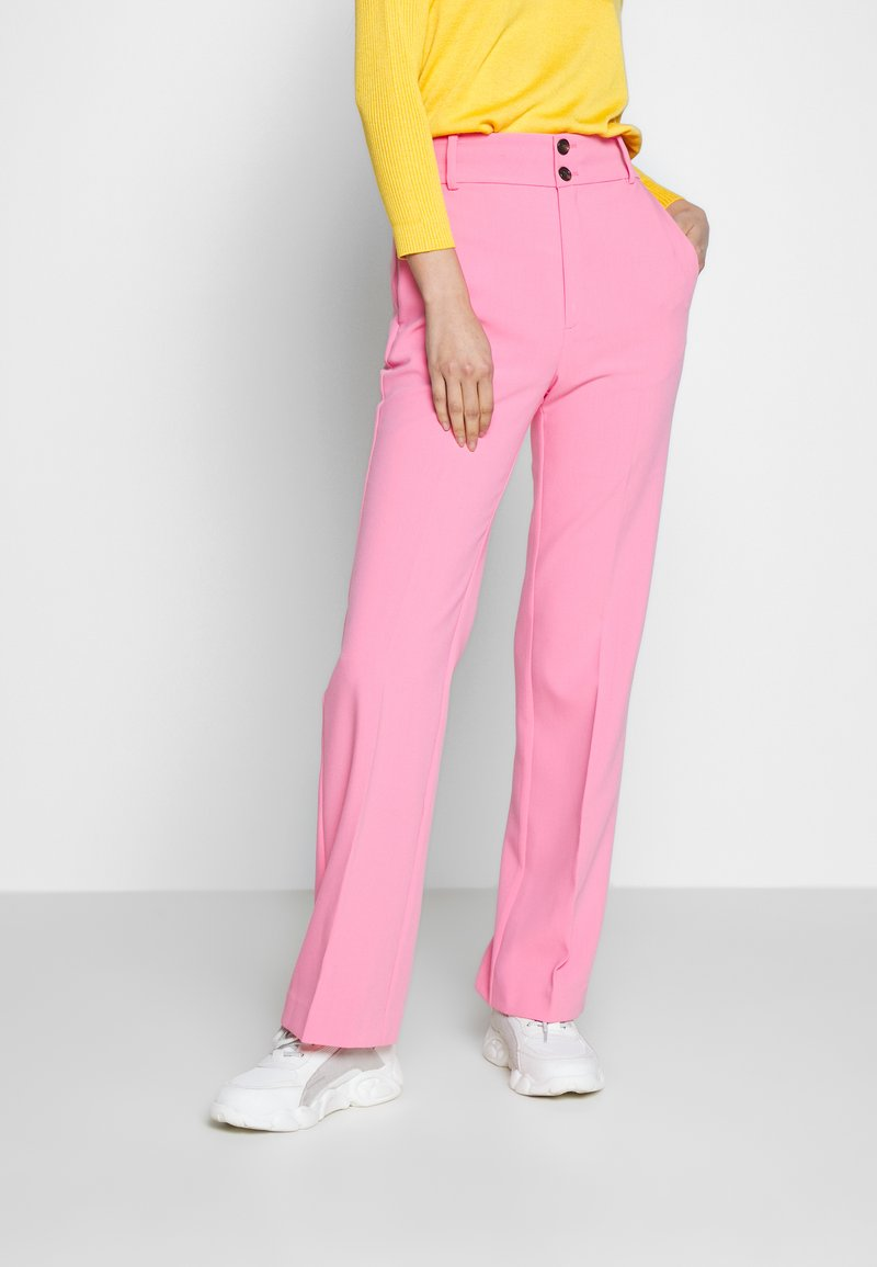 InWear - KATRICE BOOTCUT PANTS - Trousers - morning glory