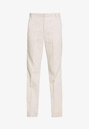 NILIA PANT - Trousers - ecru
