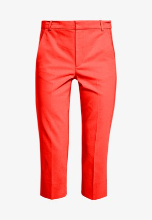 ZELLA CAPRI PANT - Stoffhose - spicy red