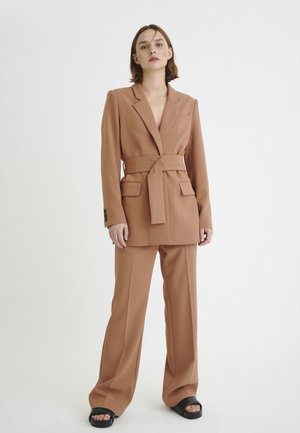 Trousers - cinnamon
