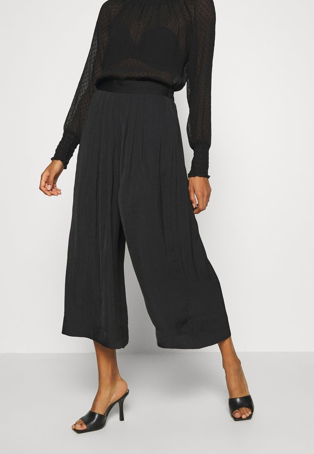 FRIEDAIW PANT - Trousers - black