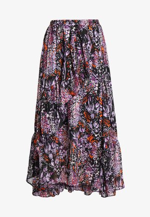HILMA SKIRT - Maxi sukně - purple