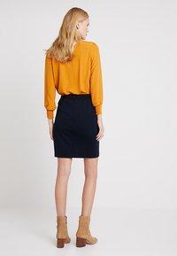 InWear - NIRA SKIRT - Blyantnederdel / pencil skirts - marine blue - 2
