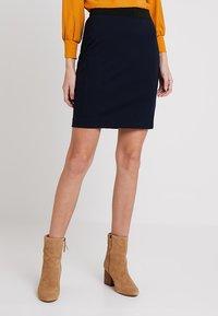 InWear - NIRA SKIRT - Blyantnederdel / pencil skirts - marine blue - 0