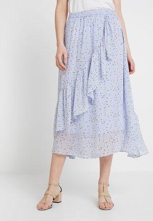SAGA HILMA SKIRT - Wrap skirt - light sky