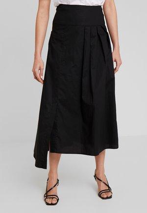 ILSAI SKIRT - Jupe longue - black