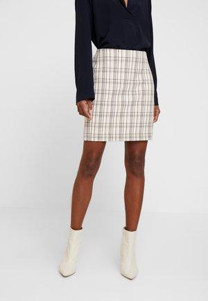 JOLIE SKIRT - Pencil skirt - black/white