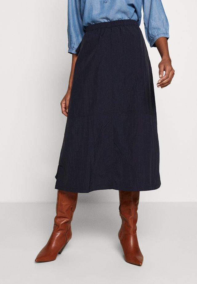 MAGGI SKIRT - Áčková sukně - marine blue