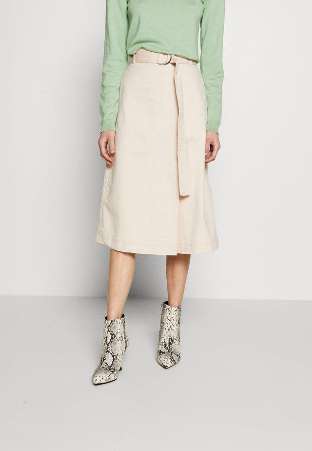 SKIRT - A-line skirt - off-white
