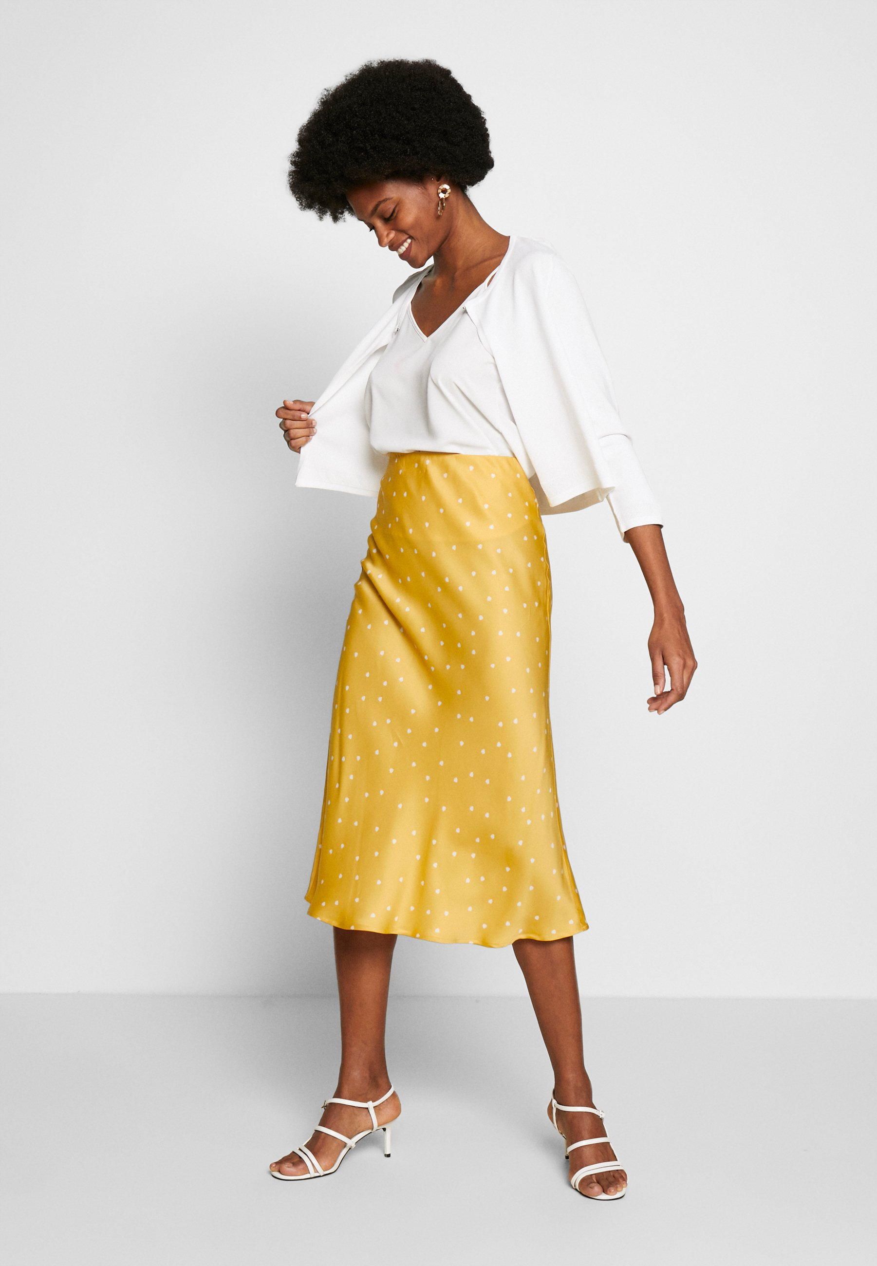InWear ROBERTA SKIRT - Spódnica ołówkowa - yellow