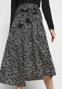 InWear - HANNE ILSA SKIRT - A-line skirt - black windy - 3