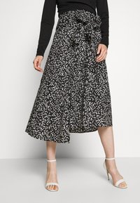 InWear - HANNE ILSA SKIRT - A-line skirt - black windy - 0