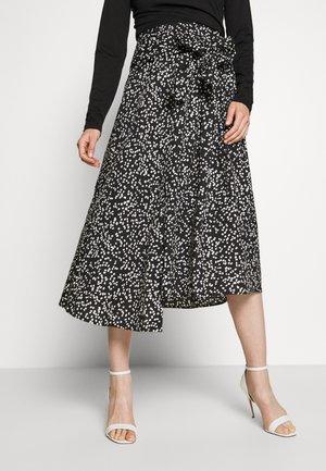 HANNE ILSA SKIRT - A-line skirt - black windy