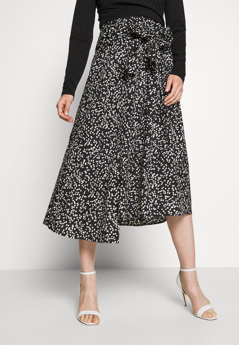 InWear - HANNE ILSA SKIRT - A-line skirt - black windy