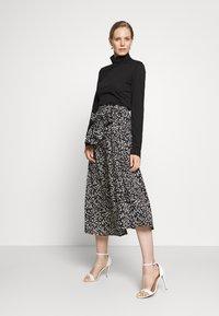 InWear - HANNE ILSA SKIRT - A-line skirt - black windy - 1