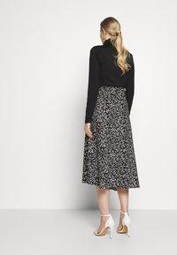 InWear - HANNE ILSA SKIRT - A-line skirt - black windy - 2
