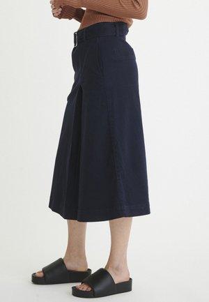 MAVISIW - A-snit nederdel/ A-formede nederdele - marine blue