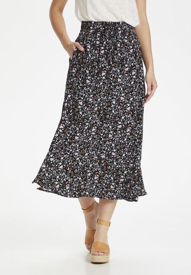 SUBIRA - Maxi skirt - liberty flower