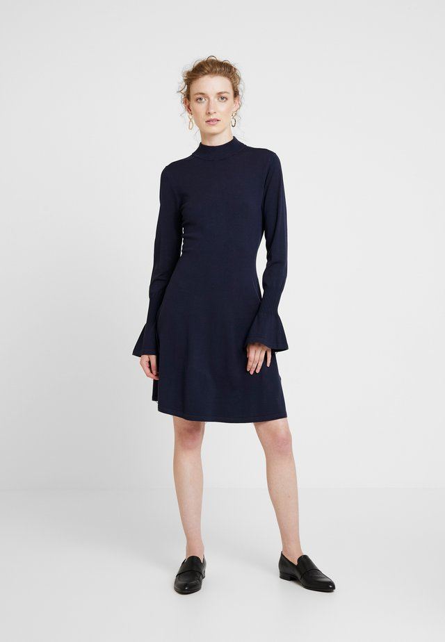FLORENTINA DRESS - Strickkleid - marine blue