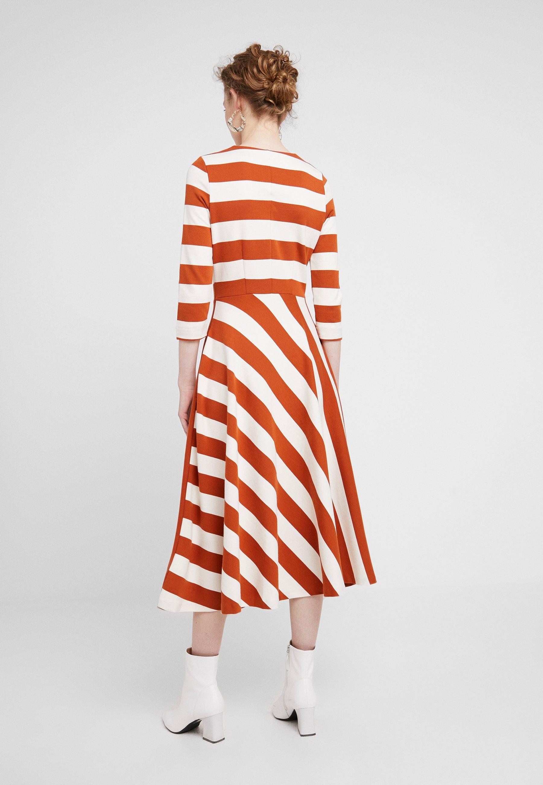 Werone Skirt Cirkle Jersey Nougat rust DressRobe En French Inwear 8n0kPwOX