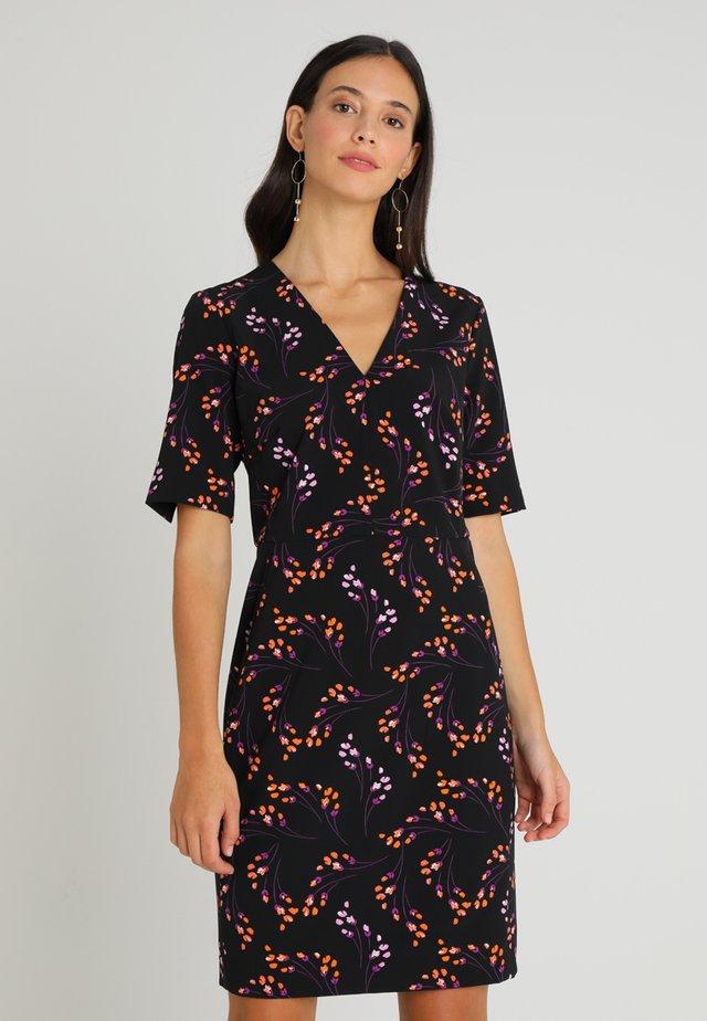 ULI V NECK DRESS - Korte jurk - multi-coloured