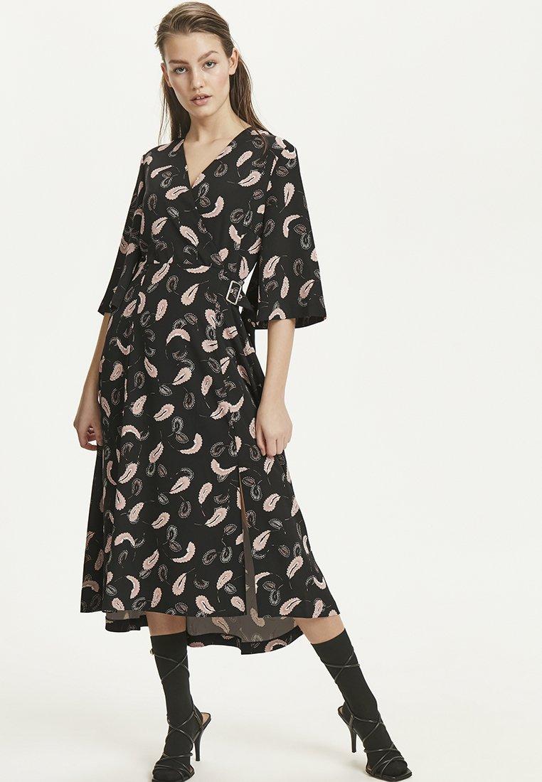 InWear - ACADIA - Sukienka letnia - black abstract paisley