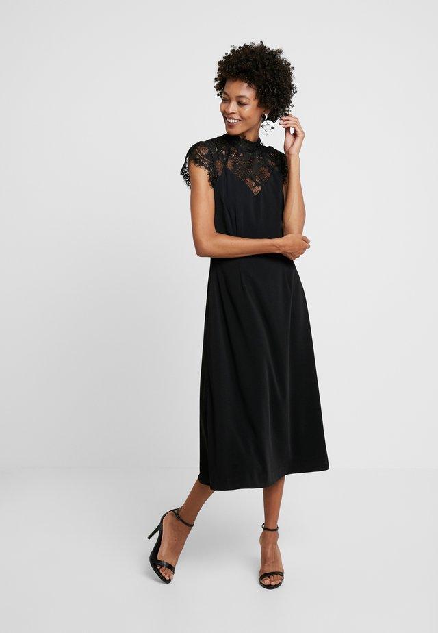 SETH DRESS - Freizeitkleid - black