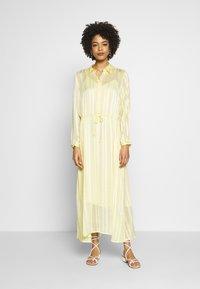 InWear - REEMAIW DRESS - Maxi dress - french vanilla - 0
