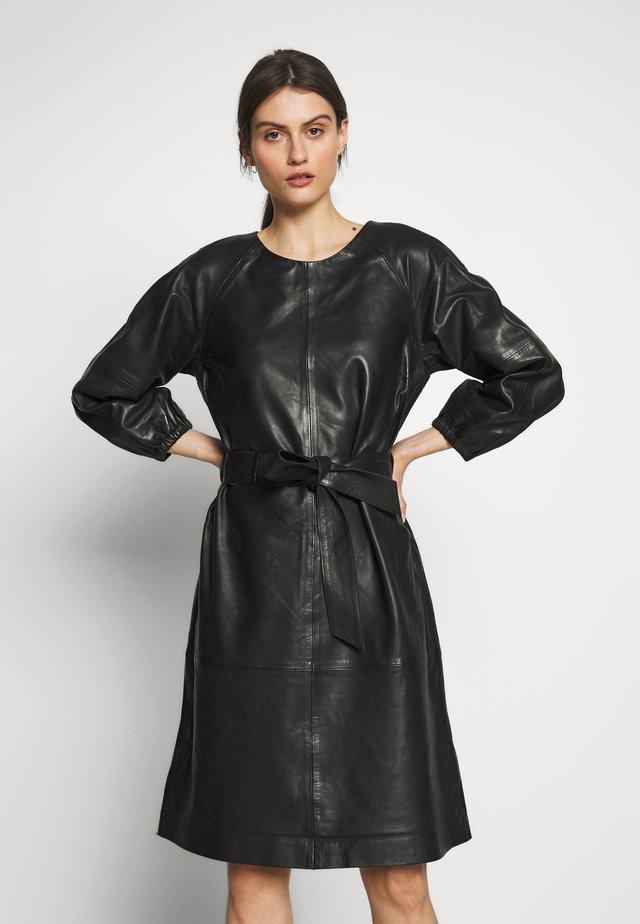NIOBE DRESS - Korte jurk - black
