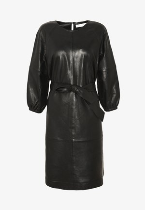 NIOBE DRESS - Korte jurk - black