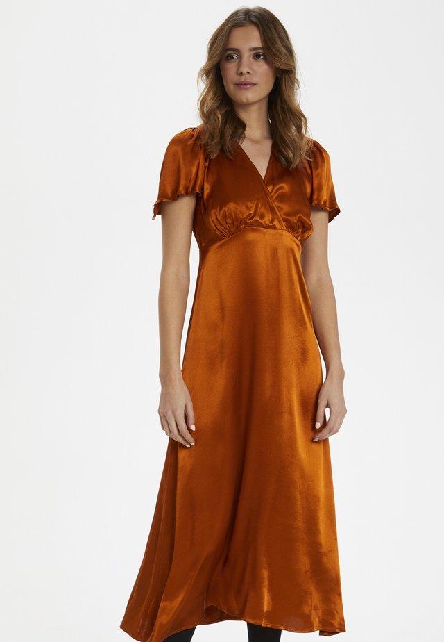 ZINTRAIW  - Korte jurk - light brown