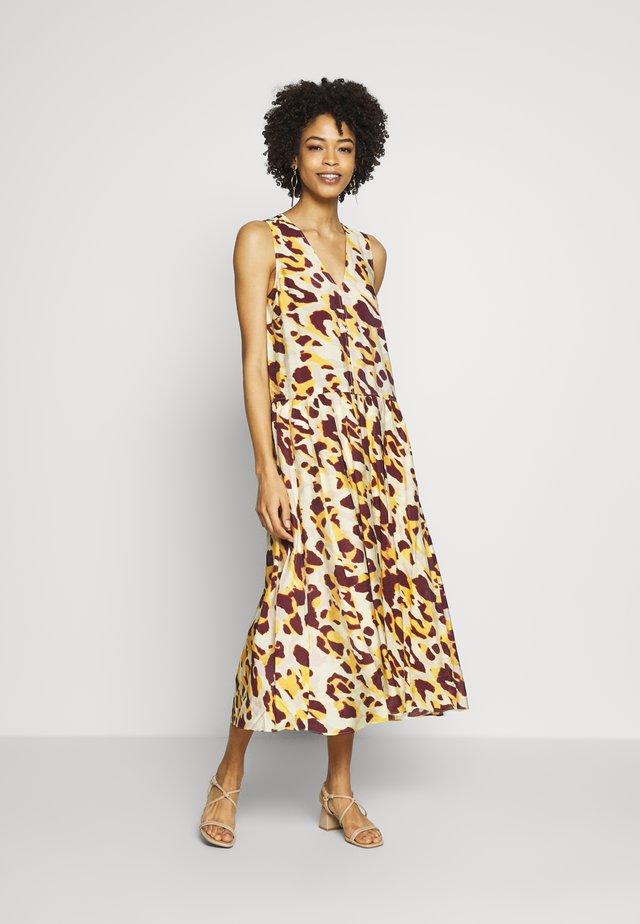 DELICIAIW DRESS - Korte jurk - yellow faded