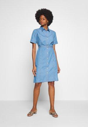 Denim dress - blue denim