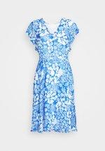 FLORIZZAI SHORT DRESS - Day dress - light blue