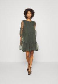 InWear - KATERINA DRESS - Cocktail dress / Party dress - beetle green - 1