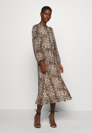FLORIZZA DRESS - Długa sukienka - natural