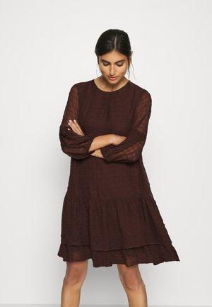 PAKWAIW DRESS - Day dress - coffee brown
