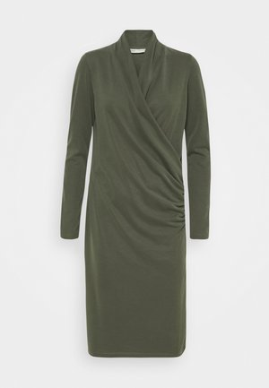 CATJA DRESS - Vestito estivo - beetle green