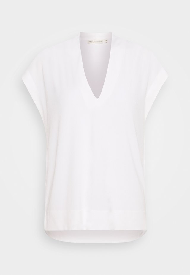 YAMINI - Print T-shirt - white smoke