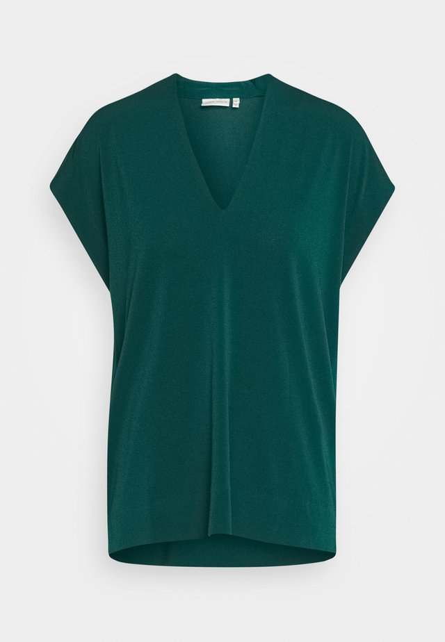 YAMINI - Print T-shirt - warm green